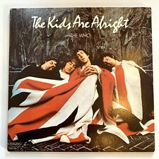 The Who - The Kids Are Alright - MCA2-11005 Vinyl 2LP VG+/EX w/Booklet