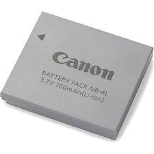 Original Akku NB4L Canon NB-4L IXUS 30 40 50 55 60 65 70 75 80 100 115 120 130