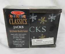Melissa and Doug Past - Tyme Classic Jacks Game in Wooden Box - BNIB