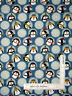 Christmas Penguins Snowflakes Cotton Fabric Benartex 10042 Jolly Penguin - Yard