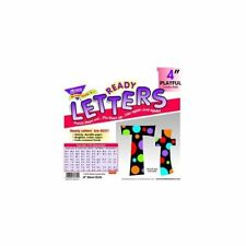 Trend Ready Letters With Neon Dots - 83 Lowercase Letters, 20 Numbers, 36