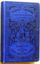 MANUALI BARBERA b.brugi SCIENZE GIURIDICHE E SOCIALI 1898