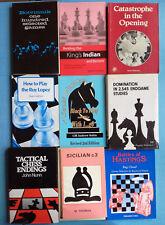 Lot de 10 livres sur les echecs en anglais - Botvinnik Neishtadt Vaïsser - chess