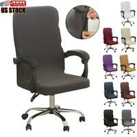 US Stretch Universal Office Computer Chair Slipcover Desk Task Rotat Seat Cover