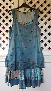 Gringo Layered Dress (Size 8-10) Boho Hippy