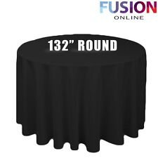 Unbranded 100% Polyester Round Tablecloths