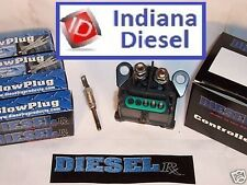 CHEVY / GMC 6.5L  GLOW PLUGS (0050) & CONTROLLER COMBO (1006)