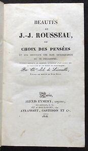 [B2672] Beautés de J.-J. Rousseau