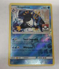Pokemon Empoleon Holographic League Promo Card Ultra Prism Total Command 34/156