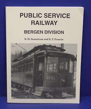 Book Public Service Railway Bergen Division Sennstrom & Francis 1994