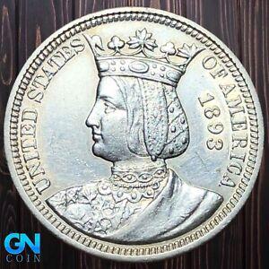 1893 Isabella Commemorative Quarter --  MAKE US AN OFFER!  #K6025