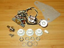 Fender 1988 USA White American Vintage 57 62 Stratocaster Control Pots Harness
