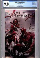 EDGE OF VENOMVERSE #1~CGC 9.8 WP (Marvel Comics, 2017)~MATTINA VARIANT