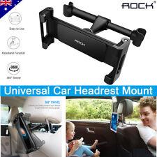 Universal 360° Car Seat Back Metal Headrest Mount Holder For Cell Phones Tablet