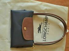NEW Longchamp Le Pliage tote bag Graphite Small Nylon Handbag