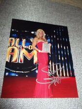 WWF WWE DIVA Sunny Tammy LYNN Sytch SIGNED 8X10 PHOTO CELEBRITY SLEUTH HOF 2011