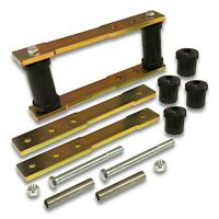 """1964-1965 Ford Mustang Gray, Standard 9//16/"""" Rods Shackle Kit"""