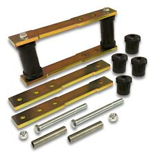 "1"" 2"" 3"" 4"" Adjustable Rear Shackle Lift Kit 1965-1973 Ford Mustang Falcon Comet"