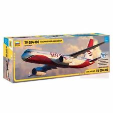 1/144 Zvezda Tu-204-100 Airliner RED WINGS 7023