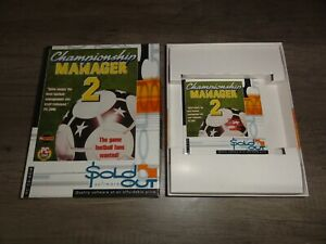 Championship Manager 2 PC BIG BOX Game By SOLD OUT SOFTWARE