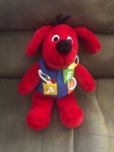 1992 Norman Bridwell Dakin Clifford Big Red Dog Stuffed Plush ABC's Collectible