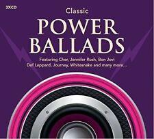 Classic Power Ballads 3 CD Set Cherr Thin Lizzy Simple Minds Tina Turner