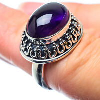 Amethyst 925 Sterling Silver Ring Size 5.5 Ana Co Jewelry R26358F