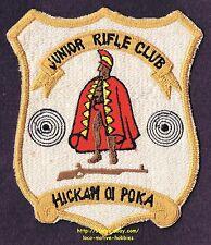 LMH PATCH Badge  JUNIOR RIFLE CLUB  Roman Spartan Logo HICKAM OI POKA Gun Target