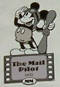 Disney Auctions The Mail Pilot 1933 LE 100 Pin