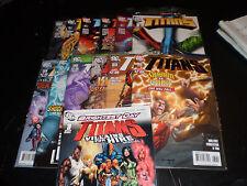 Titans #1-6, 32-34, 36-38, Villains For Hire #1 DC Comics 2008-11