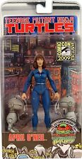 """NECA TMNT APRIL O'NEAL WITH MOUSERS 2009 COMIC CON 7"""" ACTION FIGURE 54029"""