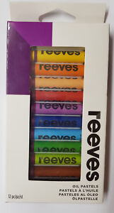 Reeves Oil Pastels 12 Pk