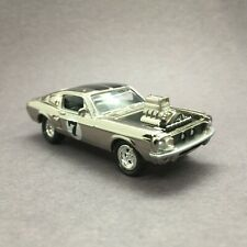 Johnny Lightning Spoilers Shelby Ford Mustang Chrome Street Freaks Die Cast 1/64