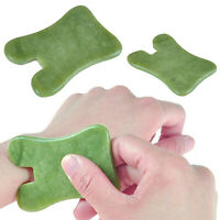 Gua Sha Body Scraping Massage Tool Facial Natural Jade Stone Board Guasha Cure