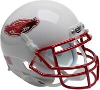 Florida Atlantic Owls Schutt White Chrome Mini Football Helmet - Fanatics