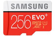 SAMSUNG EVO Plus 256GB Class 10 MicroSD Memory Card