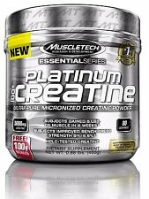 MuscleTech Platinum 100%25 Ultra-Pure Micronized Creatine Powder 400g 80 servings