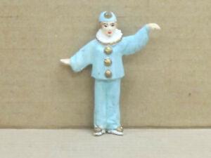 Clown Pierrette mit weiten Armen, Zinnfigur, handbemalt, Omen, 1:43, Version 3