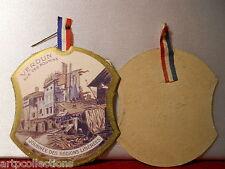 INSIGNE JOURNÉE GUERRE 1914 1918 WW1 RÉGIONS LIBÉRÉES VERDUN