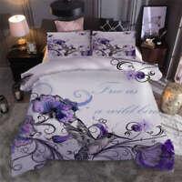 Magpies waiting alone 3D Print Duvet Quilt Doona Covers Pillow Case Bedding Sets