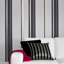 Superfresco Easy Paste the wall Gradient Stripe Grey Wallpaper