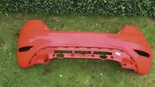 FORD FIESTA MK8 / MK9 REAR BUMPER in RED 2009-2016 - GENUINE FORD PART SEE IMAGE