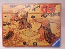 RAVENSBURGER - GO + GOBANG GO BANG - ALTE AUSGABE 1979 SPIELSTEINE LINSENFÖRMIG