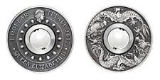 1 Unze Silber Drache & Perle 2017 1 oz silver coin Dragon & Pearl Sammler Münze