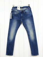 Faded Mid Rise Regular Size Jeans Tapered for Men