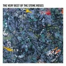 Stone Roses Very Best of CD 15 Track in Fold-out Card Sleeve With Booklet