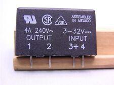 1 Crydom MP240D4 240V 4A Output 3-32V DC Control Solid State AC Relay SIP
