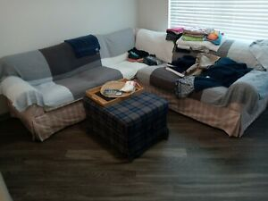 IKEA EKTORP Sectional Sofa LOCAL PICK UP ONLY