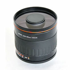 500mm f/6.3 Telephoto Mirror Lens for Canon EOS 60D 50D 1D Mark IV III II 5D 7D