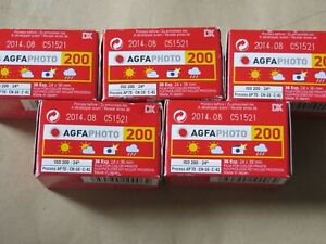 agfa vista plus 200 36 exposures